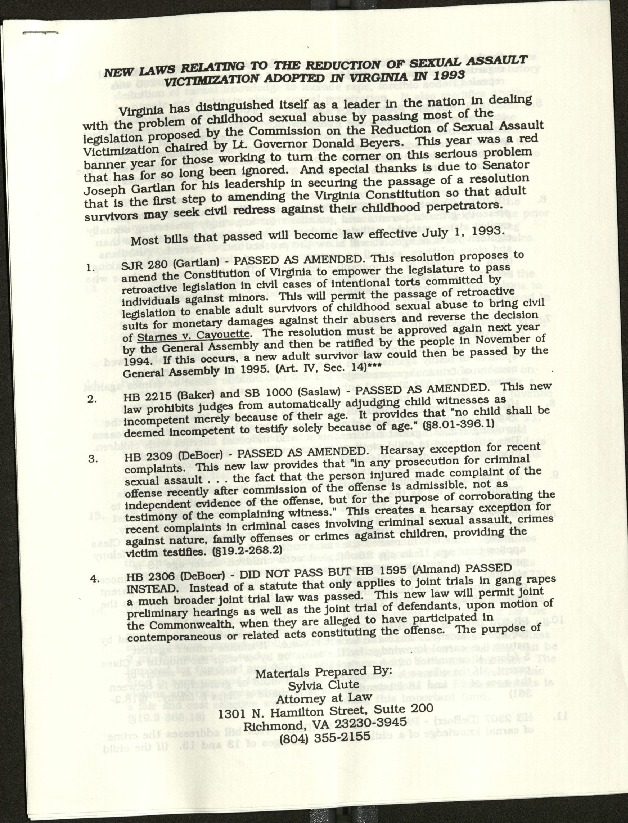 New Laws Related to the Reduction of Sexual Assault Victimization adopted in Virginia in 1993.pdf