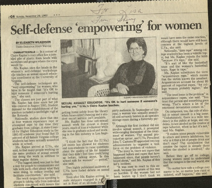 Self-defense empowering for women- Wilkerson.pdf