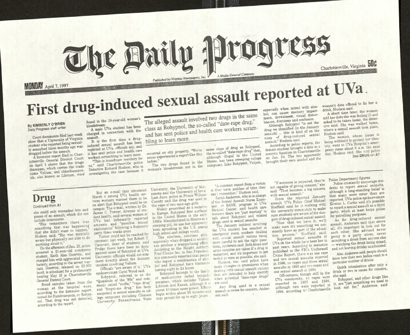 First drug-induced sexual assault reported at UVA-O'Brien.pdf