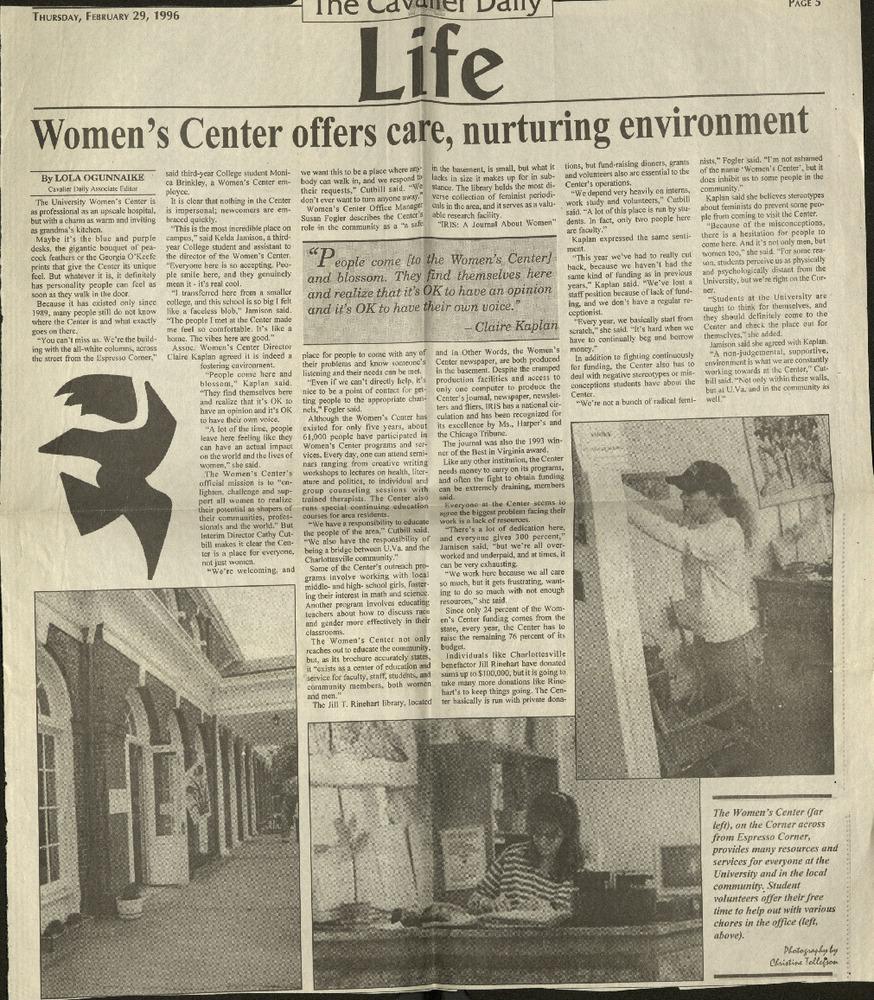 Women's Center offers care, nurturing environment- Ogunnaike.pdf