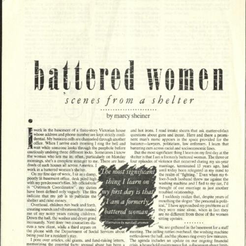 battered women- scenes from a shelter- Sheiner.pdf
