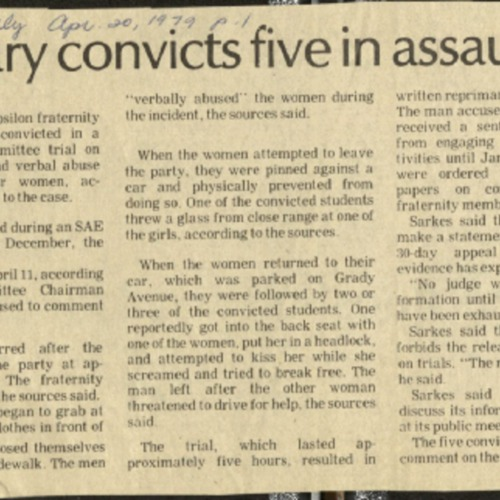Judiciary convicts five in assault- Banta.pdf