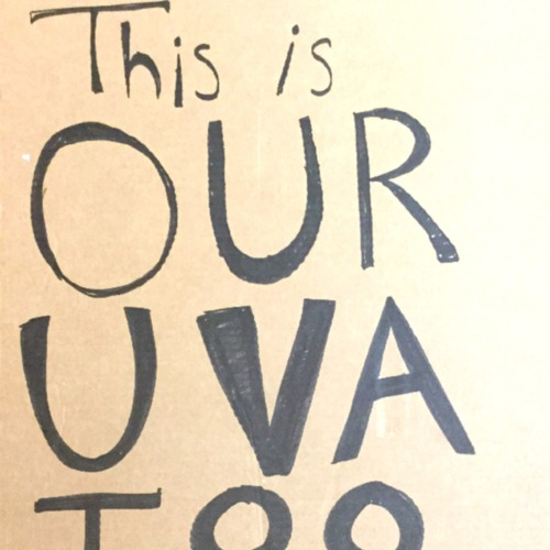 Poster - This Is Our UVA - 28x20inch approx - cardboard.pdf