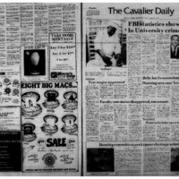 Cavalier Daily Nov 25, 1975 - FBI Statistics Show Rise in University Crime Rate.pdf