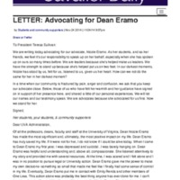Petition - Advocating for Dean Eramo.pdf