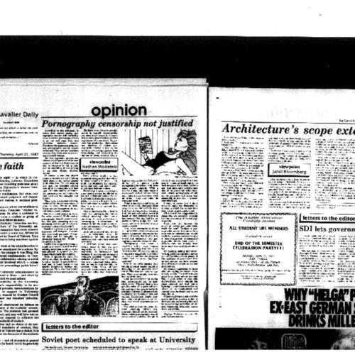 1987-04-23 - Pornography Censorship Not Justified.pdf