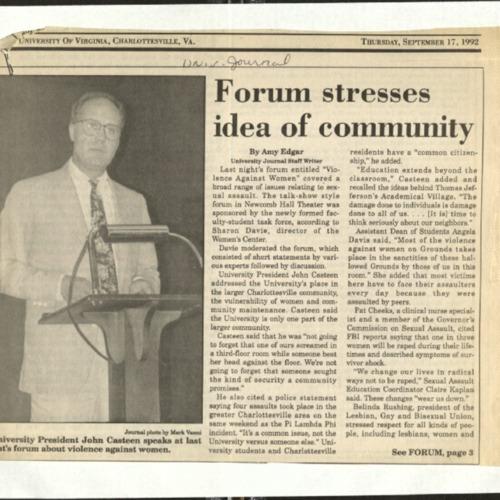 Forum stresses idea of community-Edgar.pdf