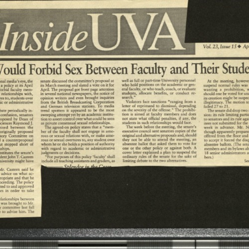 Policy would forbid sex between faculty and their students- Inside UVA.pdf