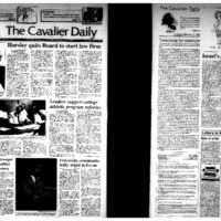 Cavalier Daily Sept 17, 1992 - University, community unity urged in forum.pdf