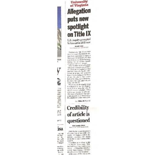 2014-12-03 DP - Allegation puts new spotlight on Title IX copy.pdf