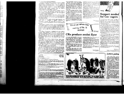 1987-02-11 - CRs Produce Sexist Flyer.pdf