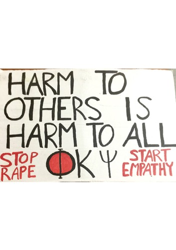 Poster - Harm to Others - 24x36inch approx - cardboard.pdf