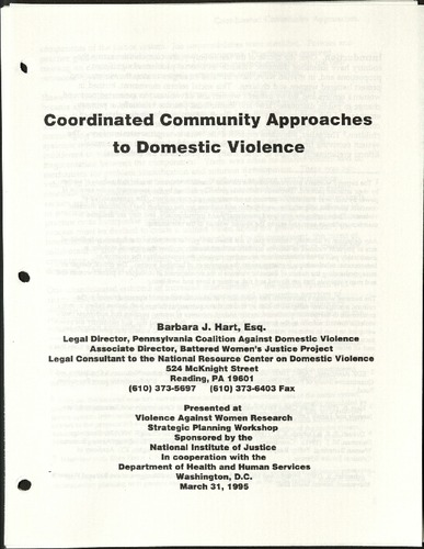 Coordinated Community Approaches to Domestic Violence- Barbara J. Hart, esq.pdf