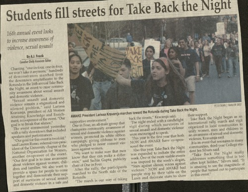 Students fill the street for Take Back the Night- Frank.pdf