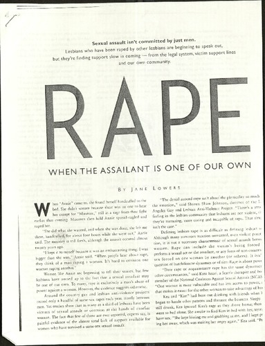 Rape- When the Assailant is one of our own- Lowers.pdf