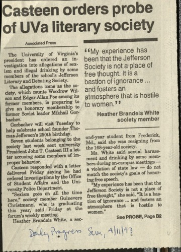 Casteen orders probe of UVA literary society-Associated Press.pdf