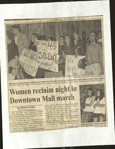 Women reclaim night in Downtown march- Hill .pdf