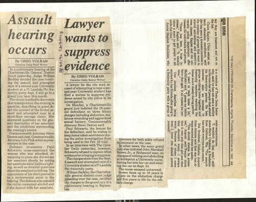 Assault hearing occurs-Volkar, Lawyer wants to suppress evidence-Volkar.pdf