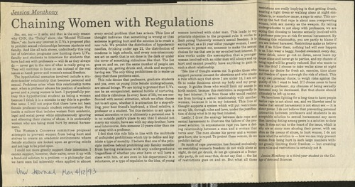 Chaining Women with Regulations-Monthony.pdf