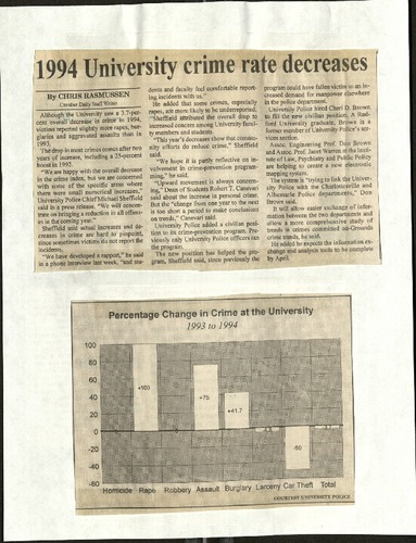1994 University crime rate decreases-Rasmussen.pdf