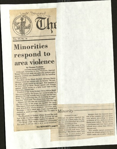 Minorities respond to area violence- Neuhaus.pdf