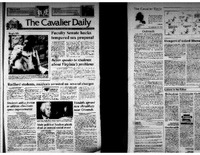 Cavalier Daily Apr 22, 1993 - Faculty Senate Backs Tempered Sex Proposal.pdf